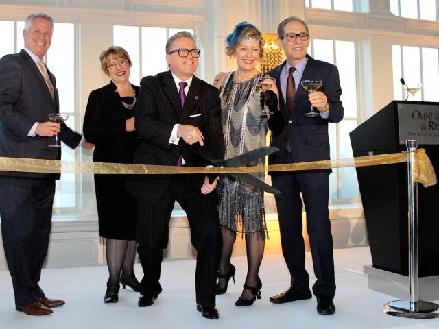 Omni King Edward Hotel reopens admired Crystal Ballroom