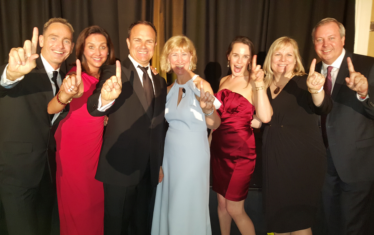 Celebrity Cruises honoured at ECSC Conference