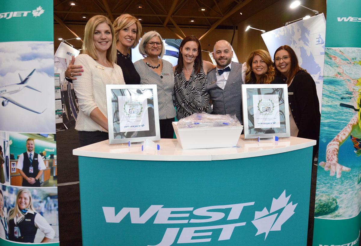 WestJet's 2017 travel trade expo takes flight