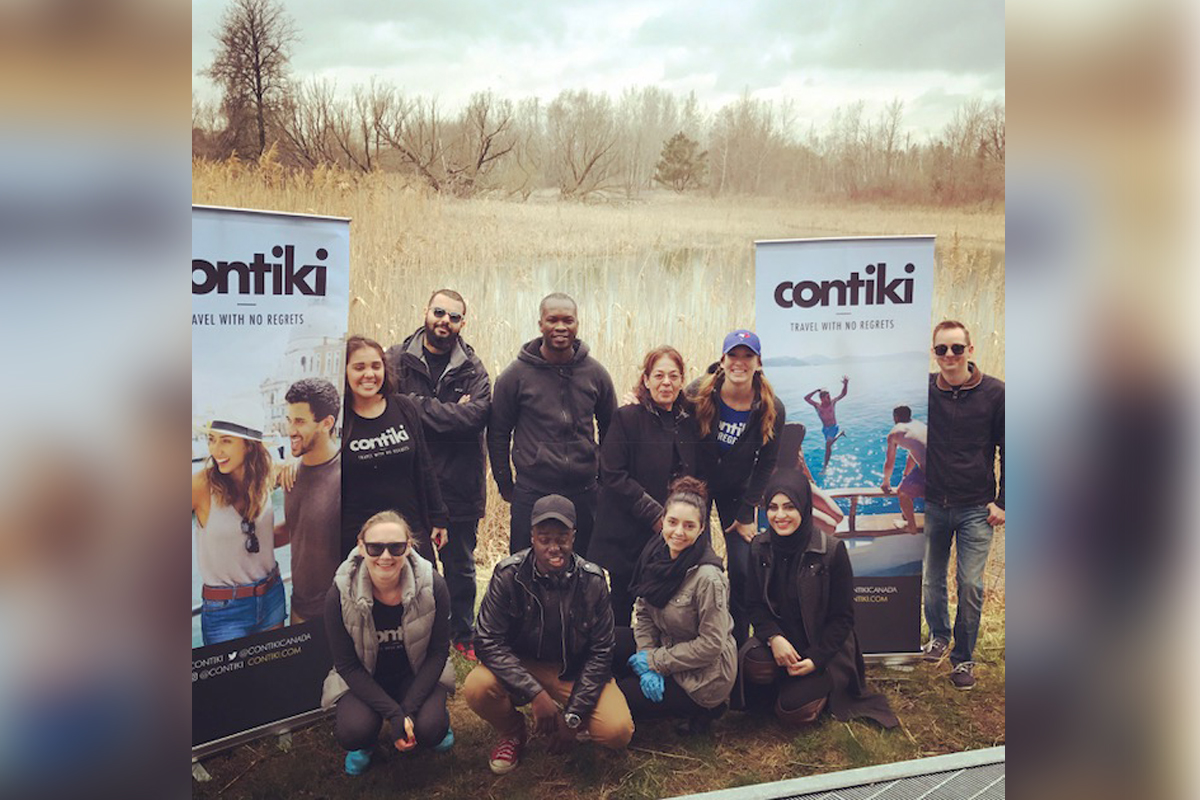Contiki beach cleanup marks Earth Day