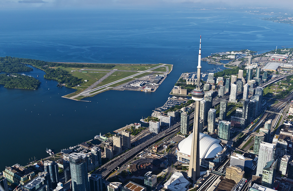 Billy Bishop named in Top 10 Scenic Airport Landings list