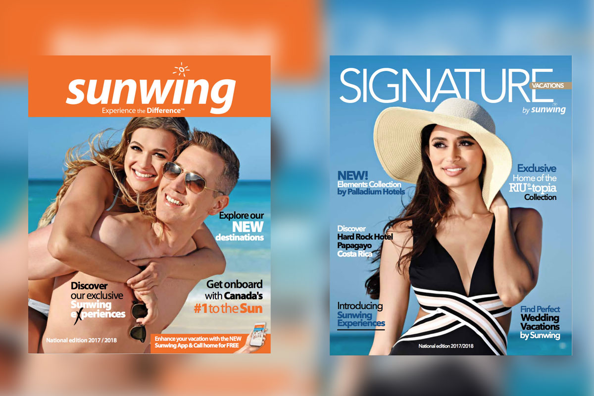 Sunwing & Signature's 2017-18 brochures now available