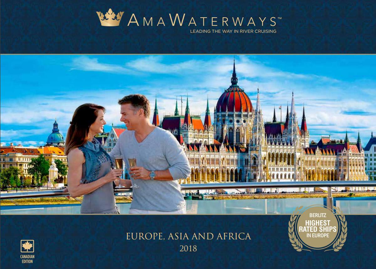 AmaWaterways' new AmaLea featured in 2018 brochure