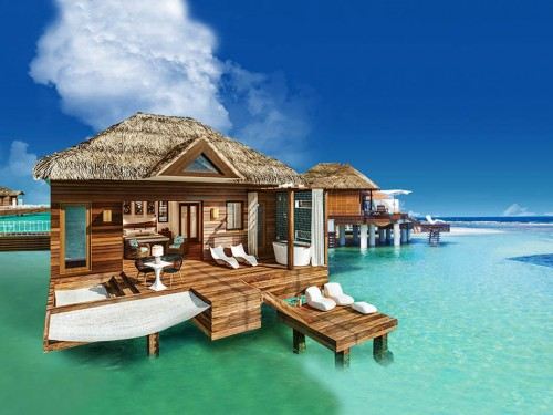 Over-the-water bungalows coming to Sandals South Coast