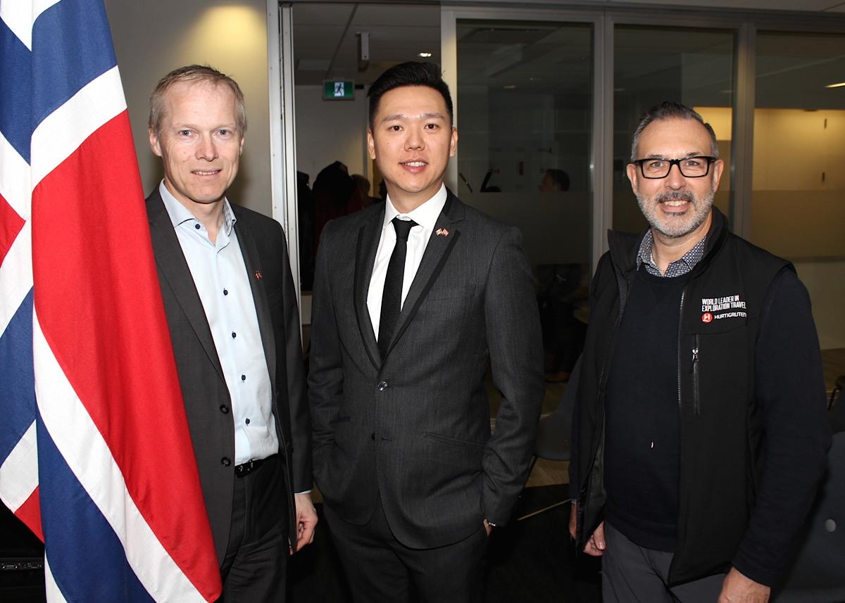 GLP Worldwide & Hurtigruten showcase Norway