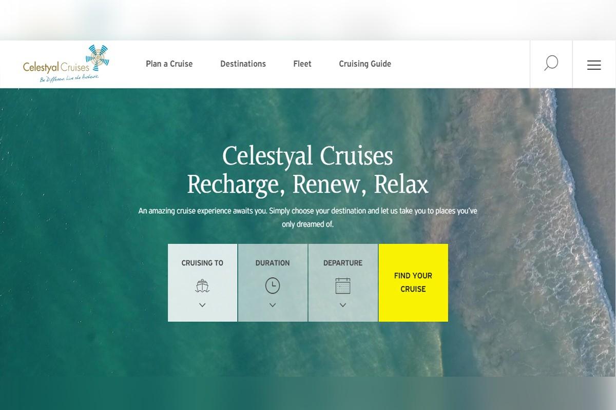 Celestyal Cruises unveils new website