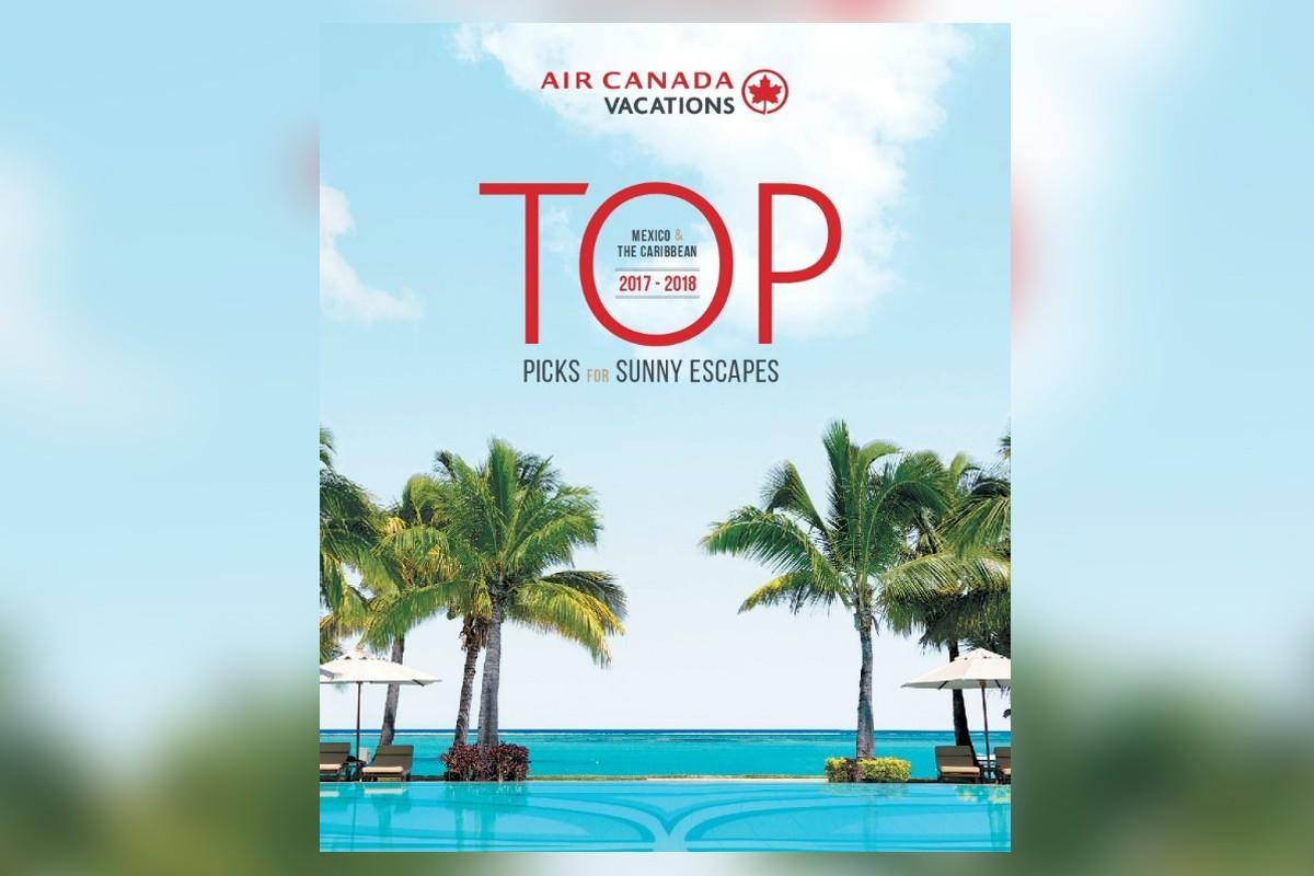 Air Canada Travel Brochure