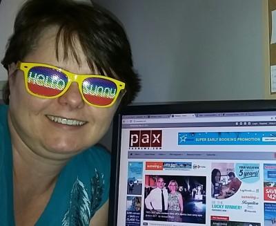 My future is so bright with Paxnews.com...I gotta wear shades!