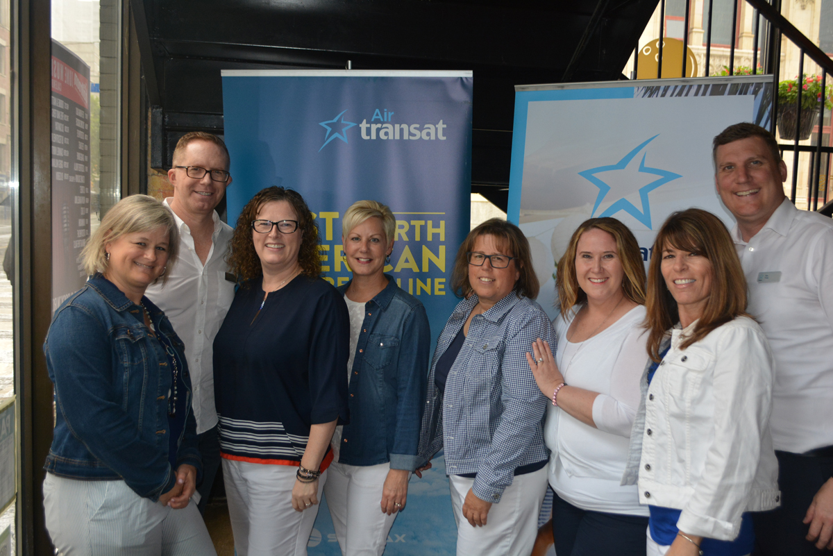 Transat gets its bowling shoes on to celebrate new South program