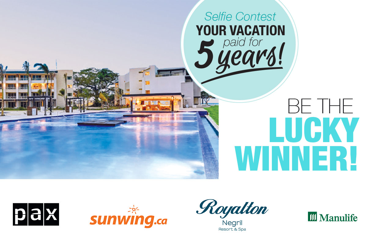 LogiMonde's contest for 5 years of paid vacation is underway!