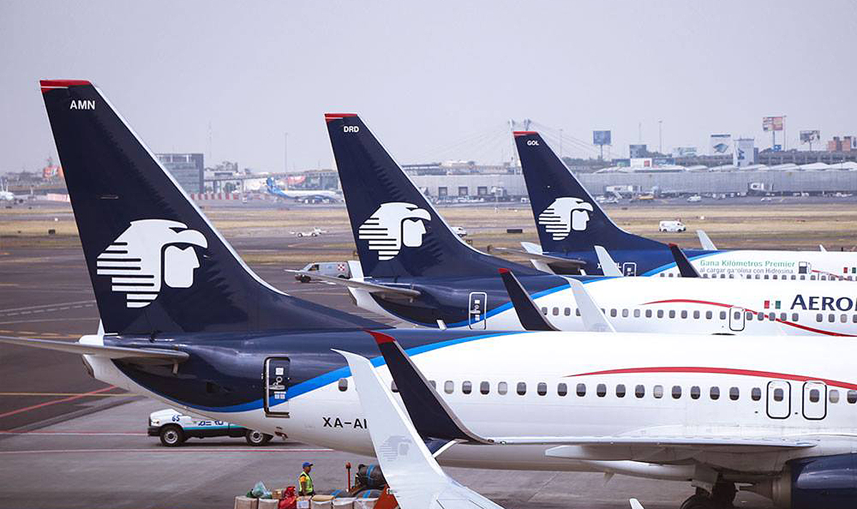 Aeromexico inaugurates Calgary-Mexico City route