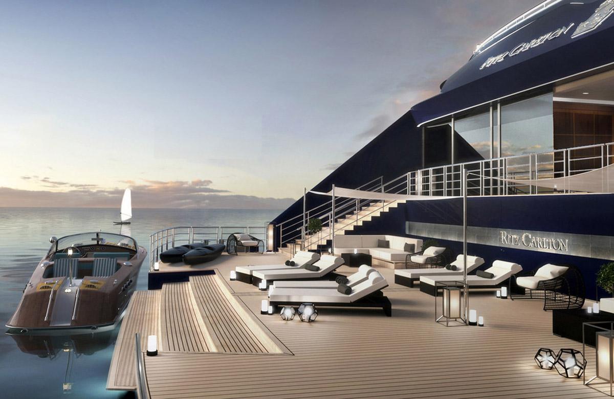 Ritz-Carlton cruises into luxury yachting