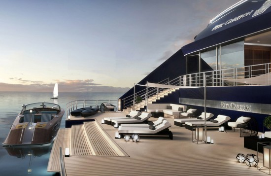 Ritz-Carlton cruises into luxury yachting