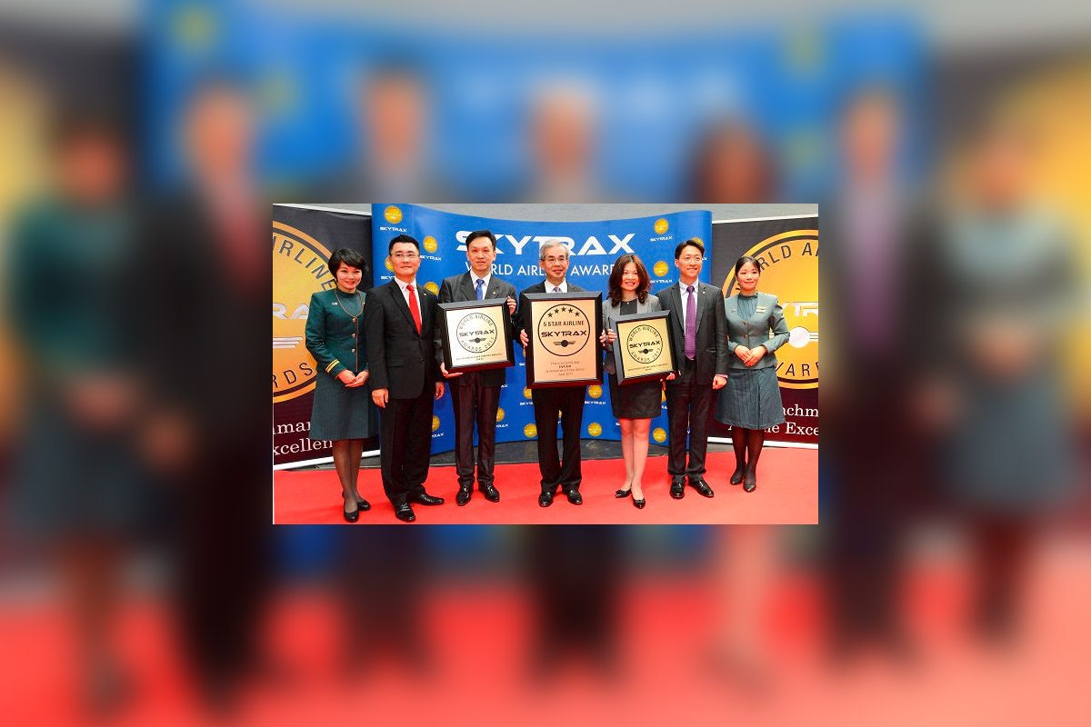 EVA Air lands top marks in Skytrax awards