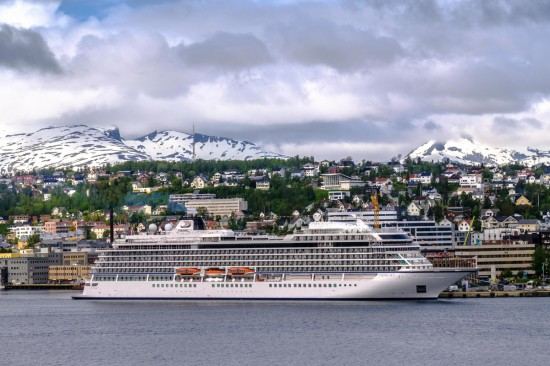 Viking Sky christening takes place in Norway
