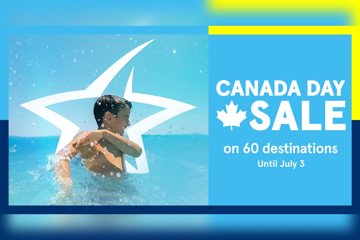 Air Transat's Canada Day sale takes flight