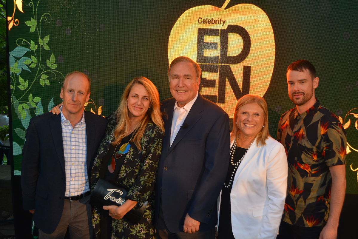 Celebrity excites the senses at Eden launch