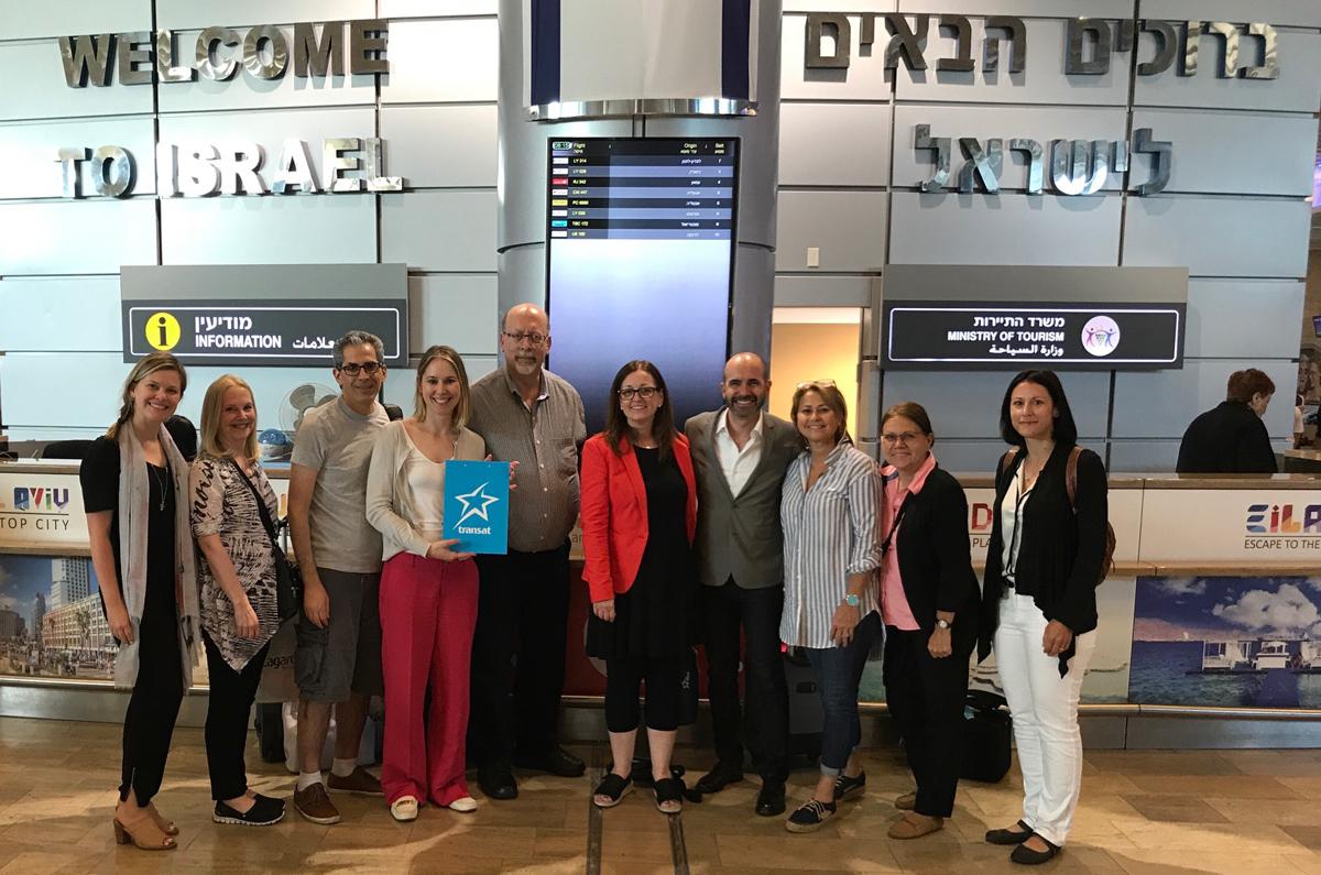 Liftoff for Air Transat's Montreal-Tel Aviv service