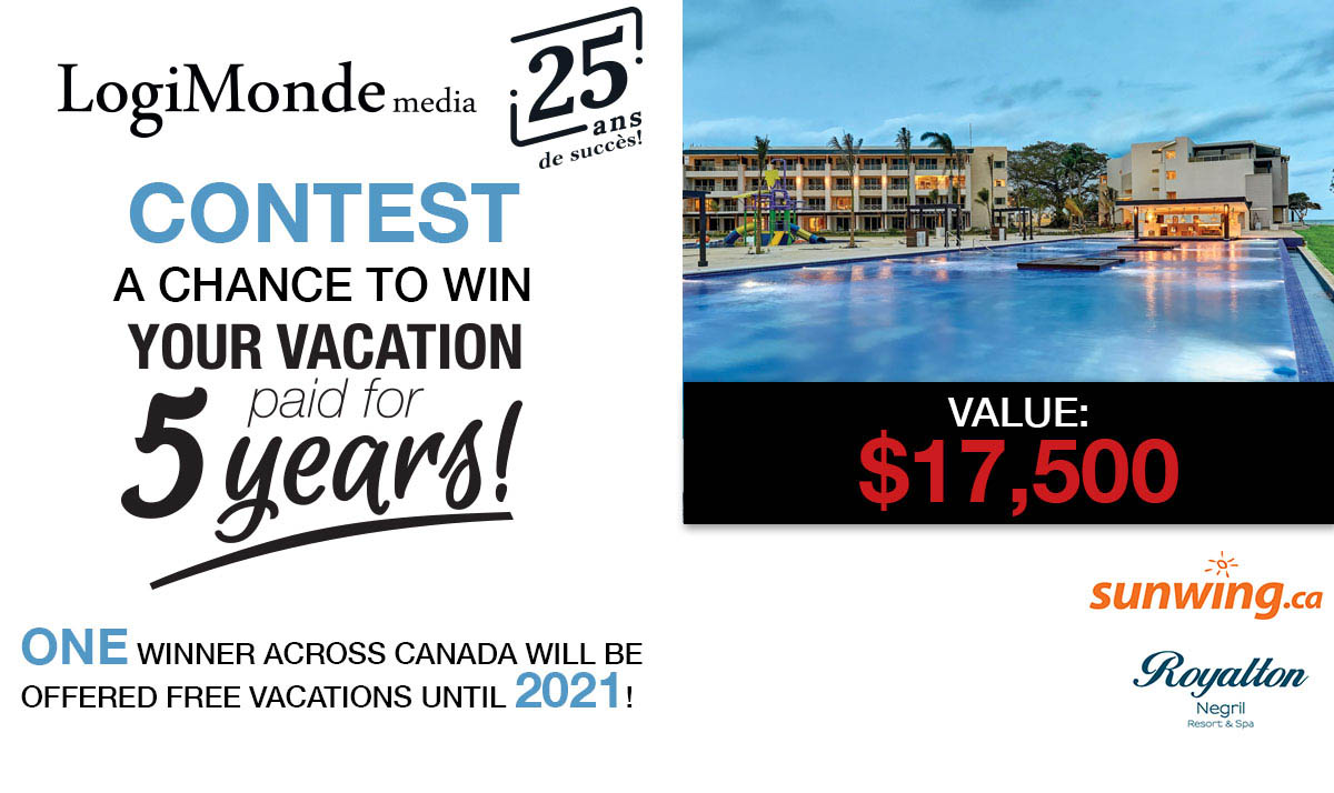 LogiMonde's 25th anniversary contest is worth $17,500!