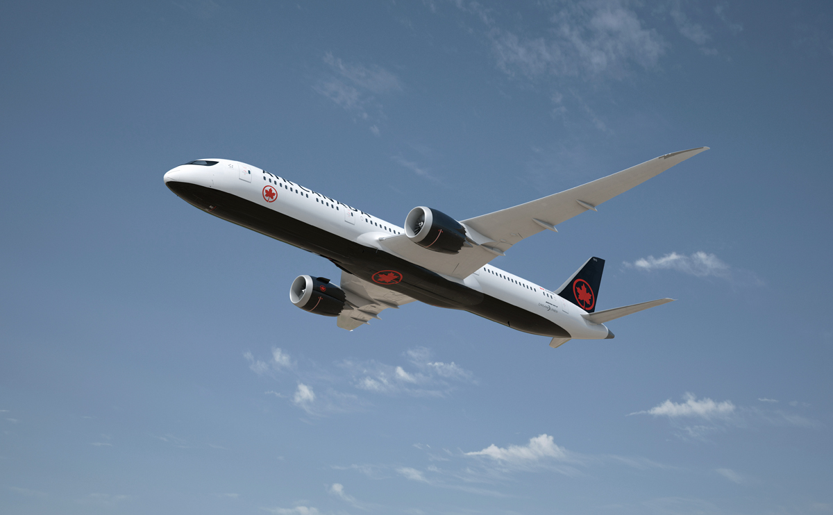 New passenger record for Air Canada