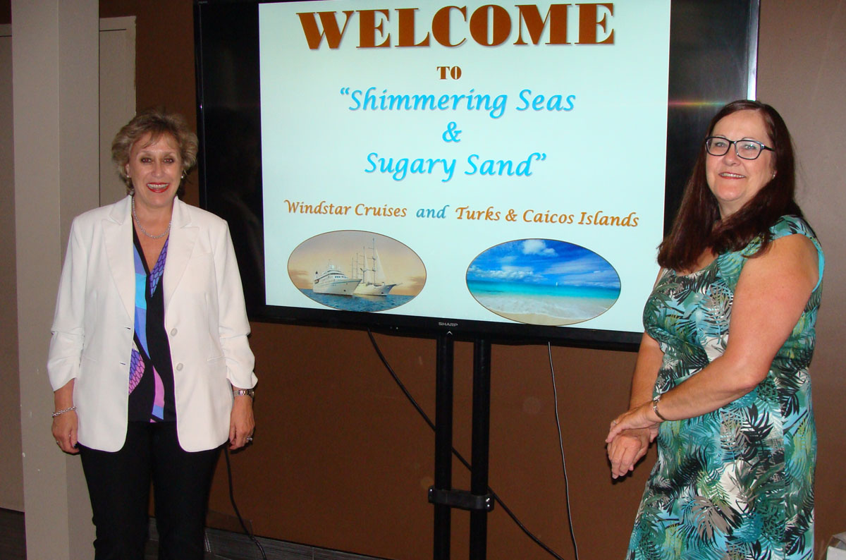Windstar Cruises, Turks & Caicos Islands host Ottawa agents