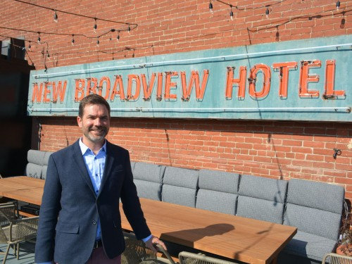 Broadview Hotel toasts its grand reopening