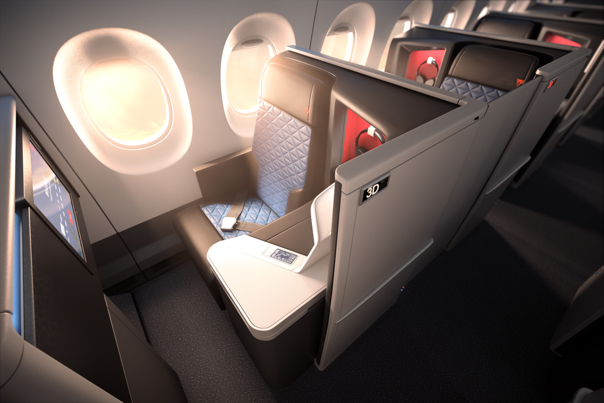 Private suites featured on Delta's new plane