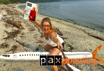 Got my Sunwing and PAX - ready to travel & relax!!