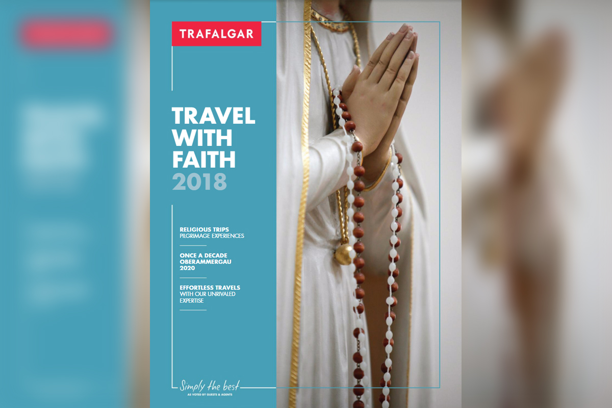 Trafalgar Travelling With Faith in 2018