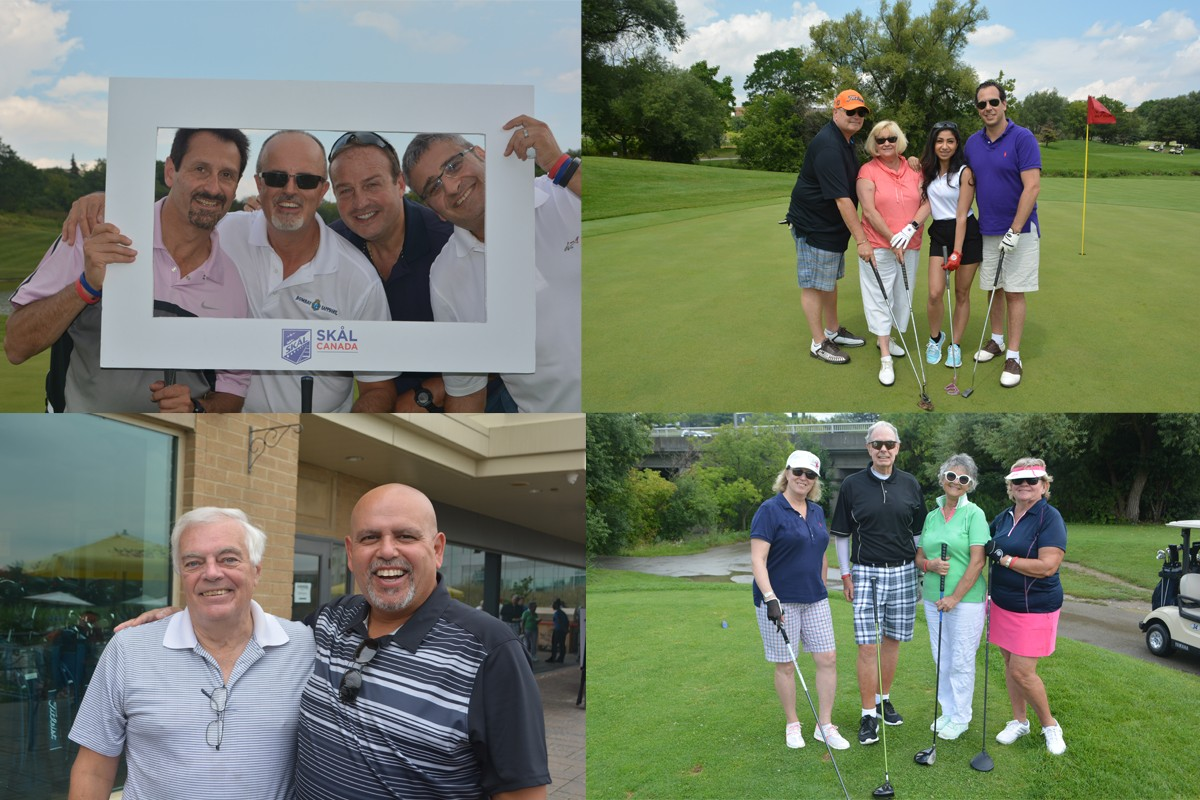Travel industry hits the links at Skal Golf Tournament