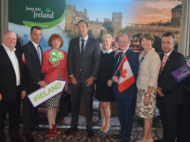 Irish P.M. welcomed to Toronto
