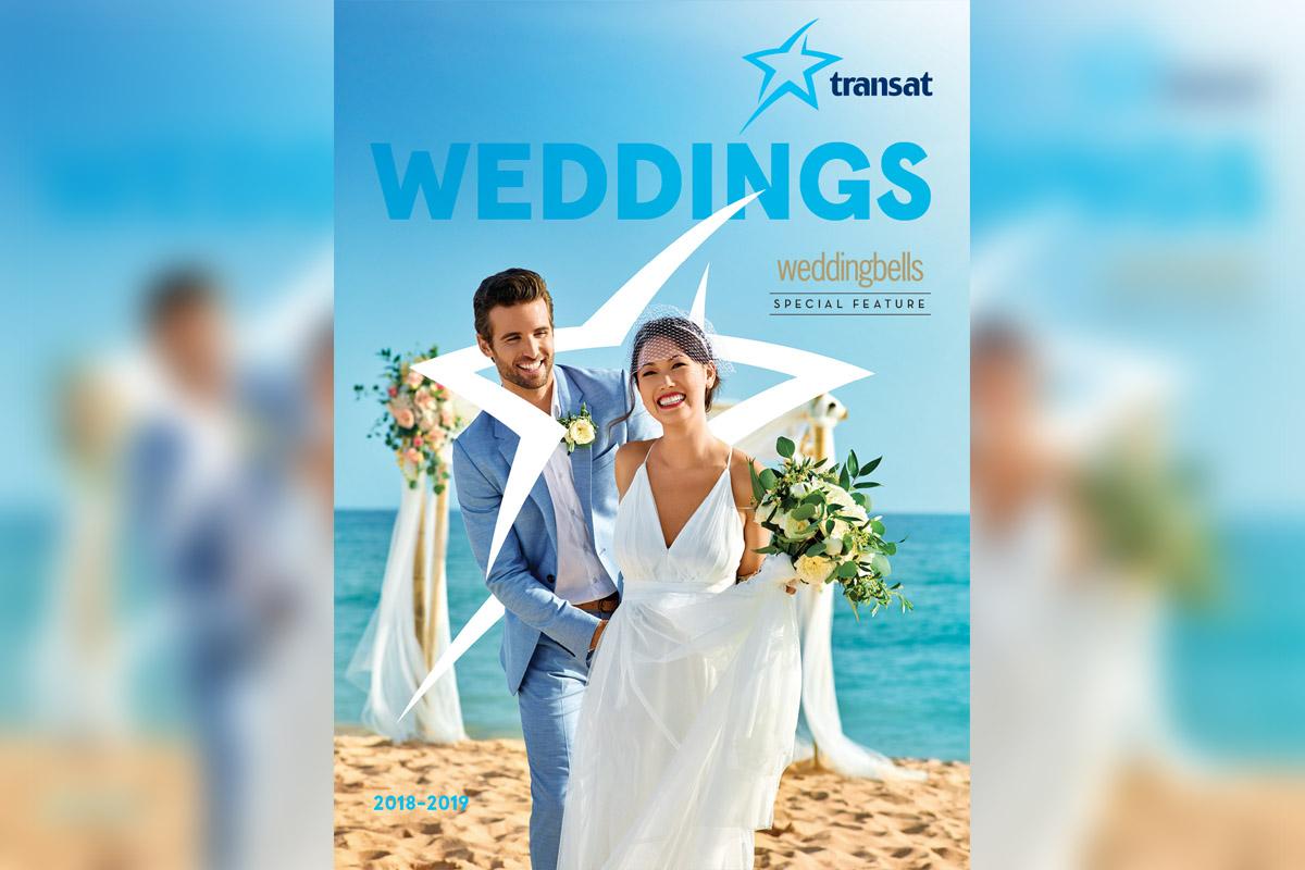 Transat's Weddings brochure has arrived