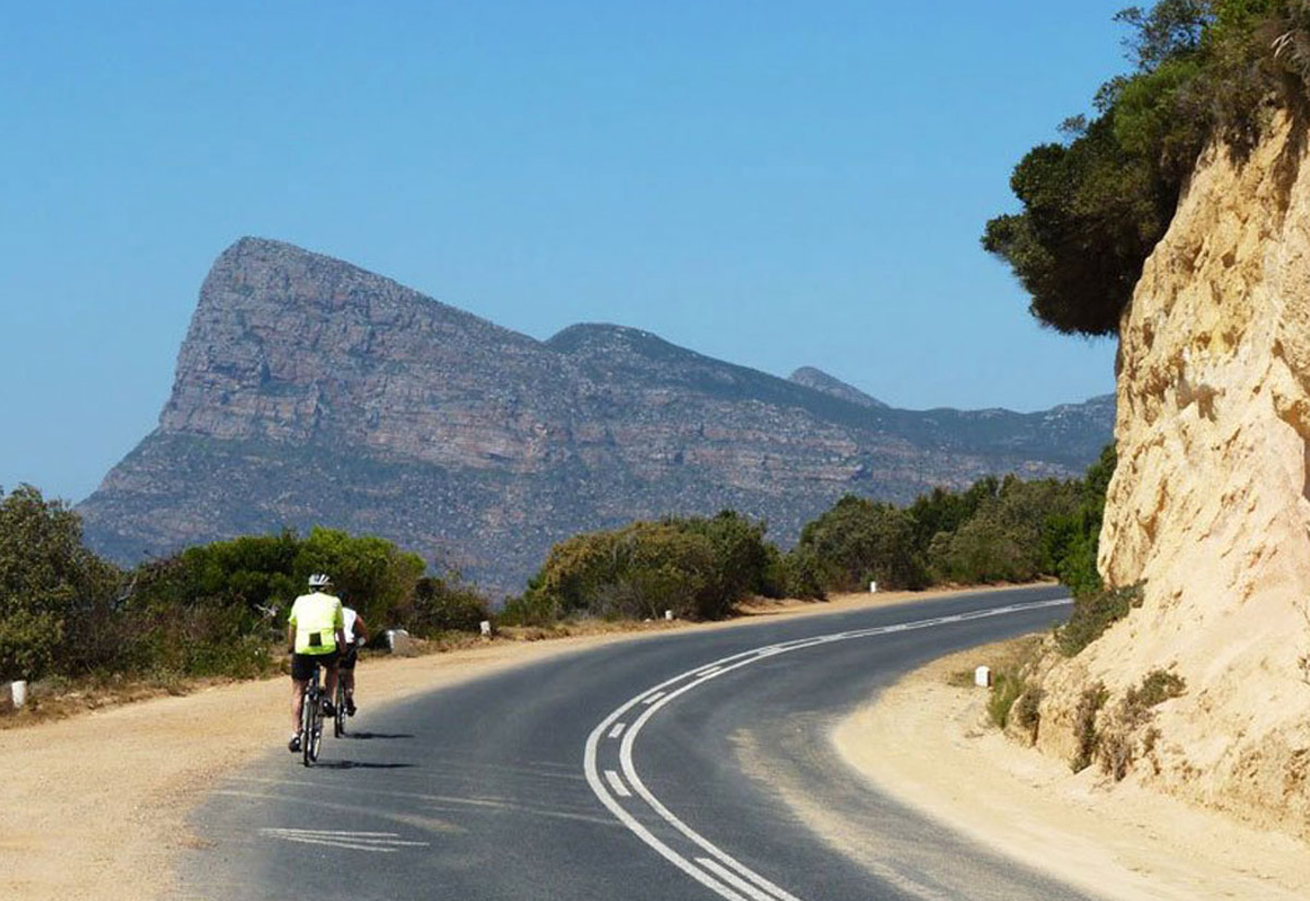 B&R goes cycling in South Africa