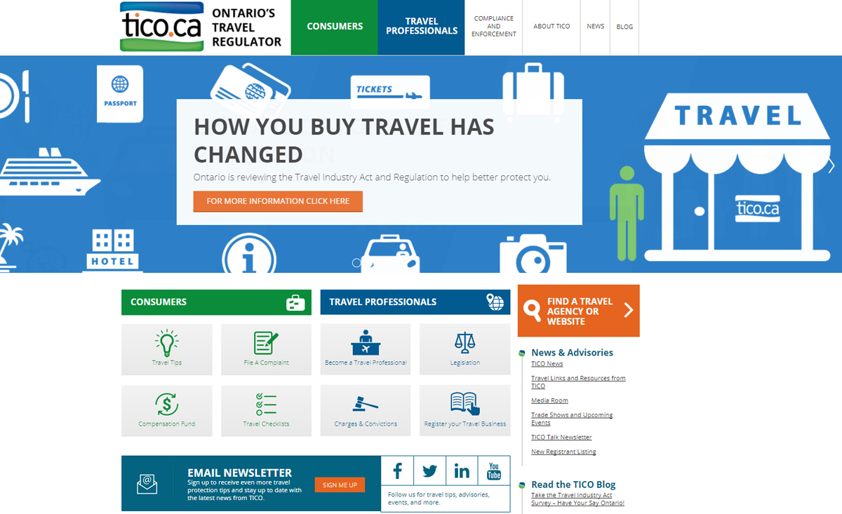 TICO site features new look & new tools