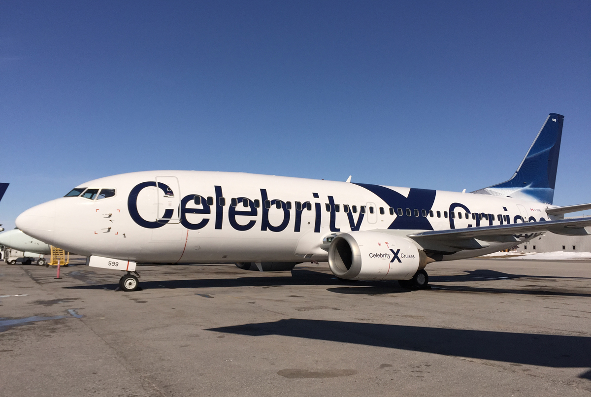 Celebrity adds Thunder Bay departures