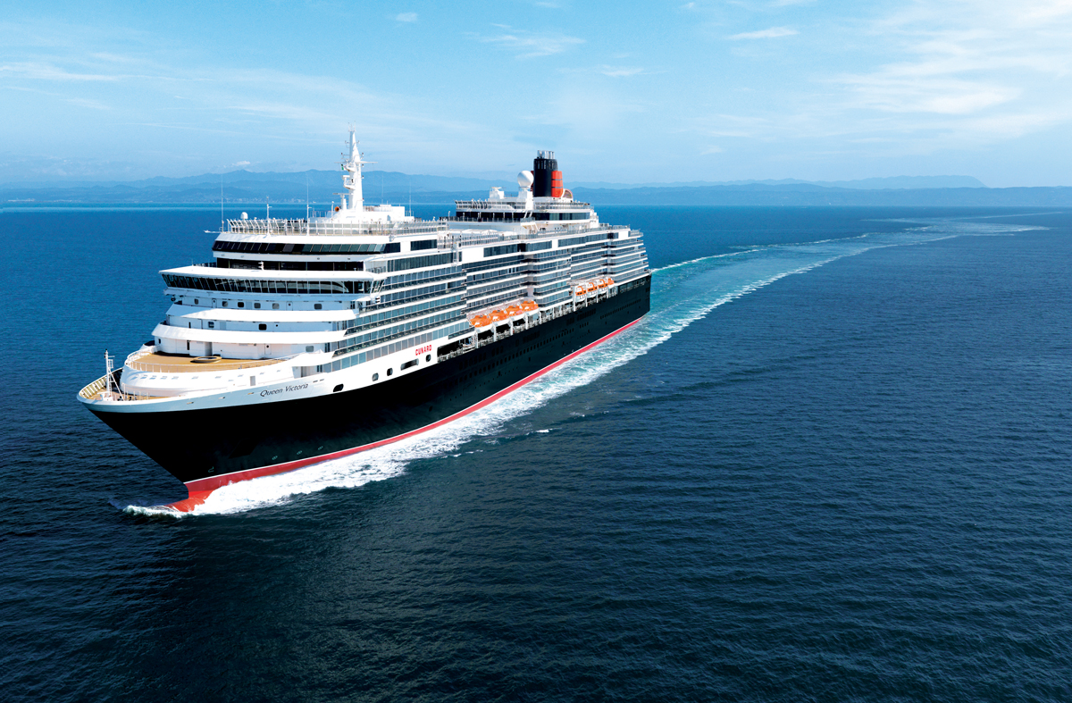 Cunard cruising into 2019