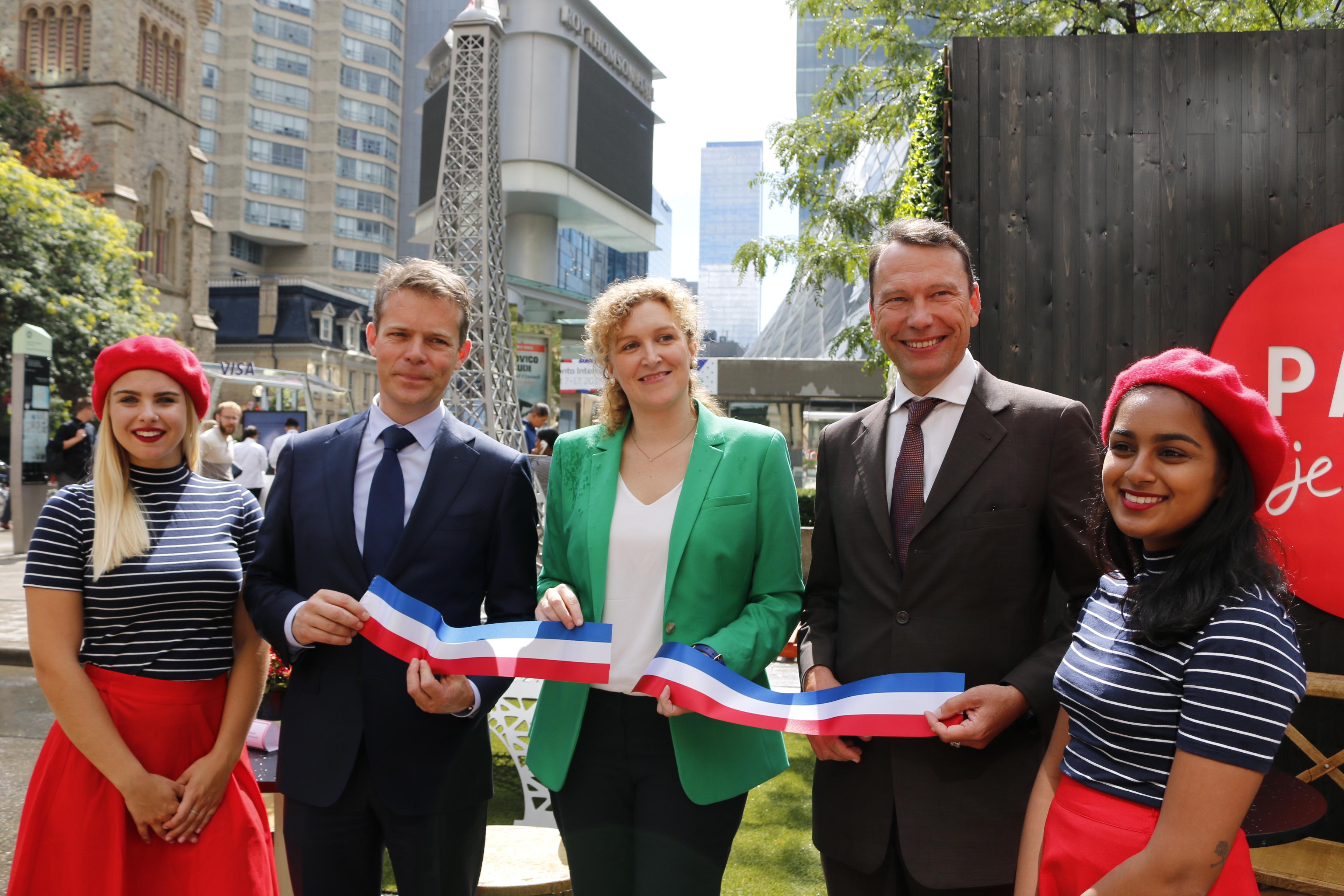 Air France opens Air Bistro Paris at TIFF