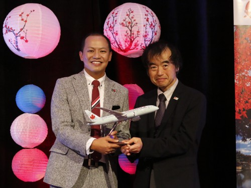 Japan tourism boards thank Air Canada