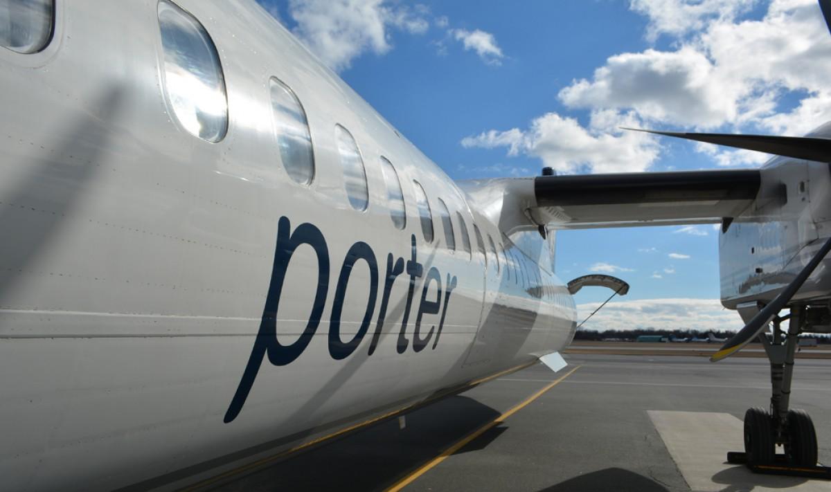 Porter's Fredericton service takes flight
