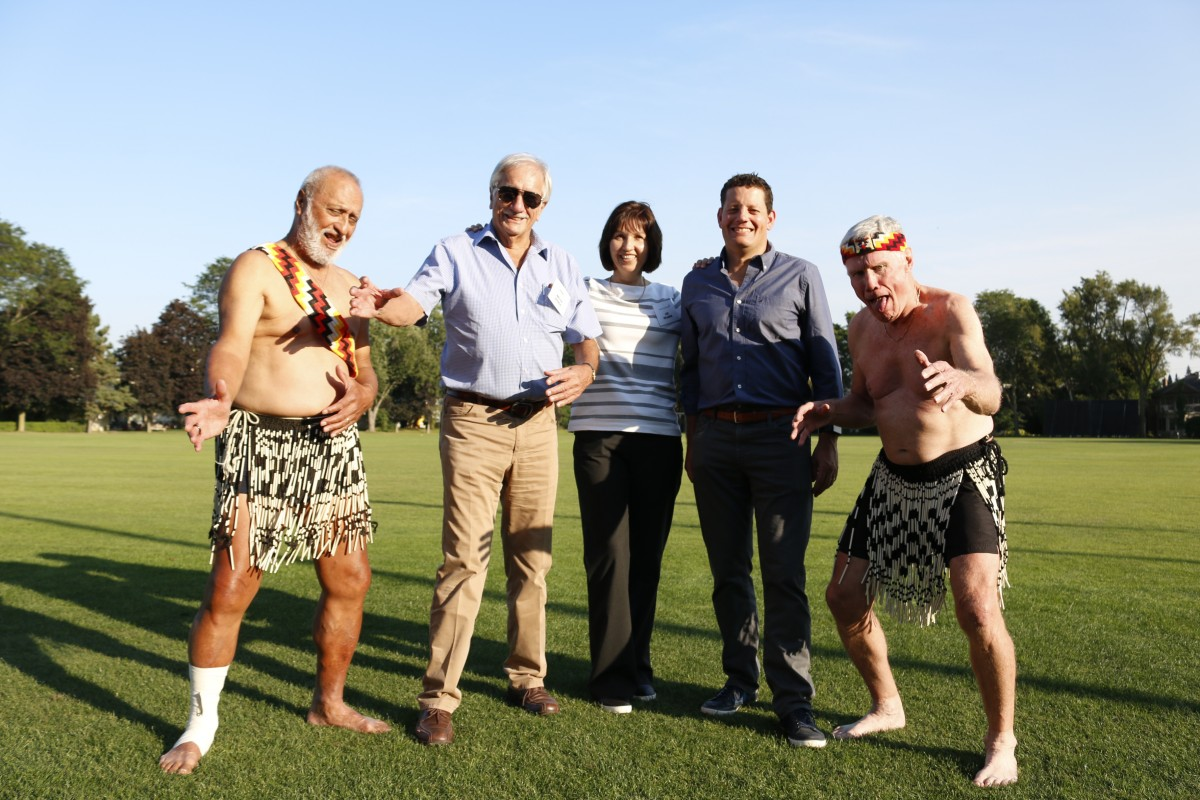 Goway Travel and Air New Zealand face off in 16th annual cricket match