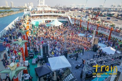 #TRAIN Cruise with NCL - this is a PARTY
