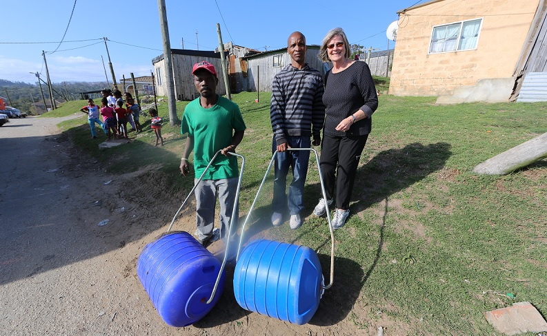 Collette launches voluntourism projects in South Africa