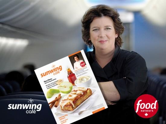 Celebrity chef Lynn Crawford enhances Sunwing Café