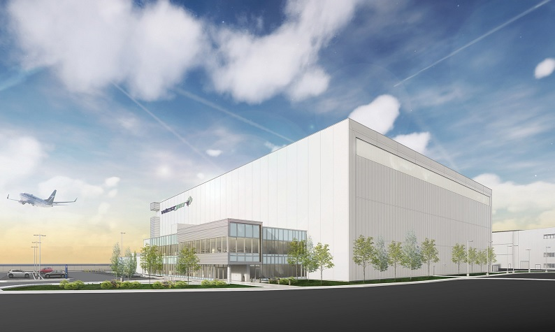 WestJet pushes forward with Calgary hangar