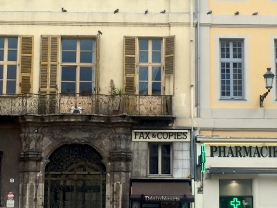 Nice France storefronts