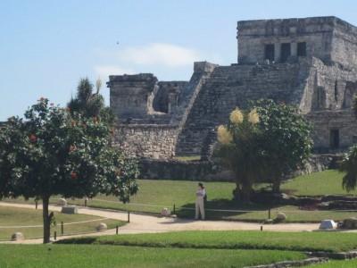 Hot Day at the Mayan Ruins