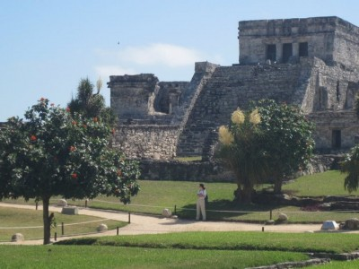 Hot Day at the Mayan Ruins