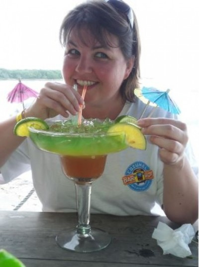 Cocktail in Cozumel