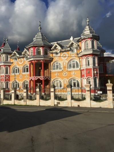 Gypsy house in Romania