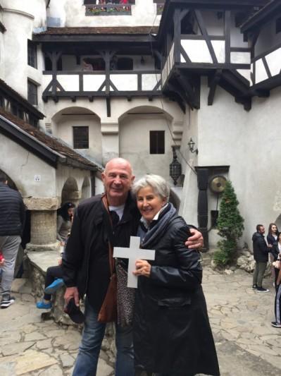 Dracula' Castle in Transylvania